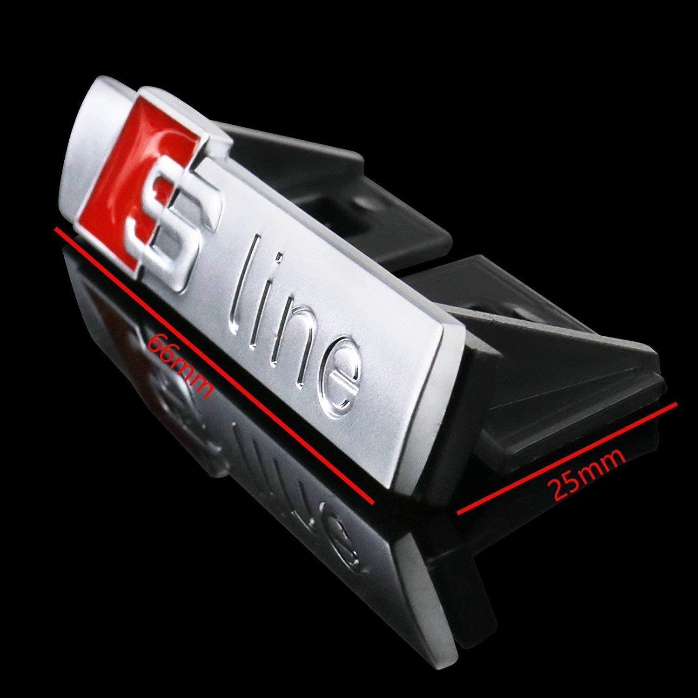 Insigne argent/é S-Line. Pack dembl/ème sportif S-line pour radiateur