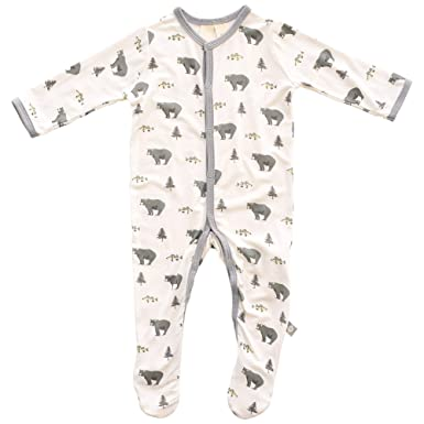 5df2a1a4a Amazon.com  Kyte BABY Footies - Baby Footed Pajamas Made of Soft ...