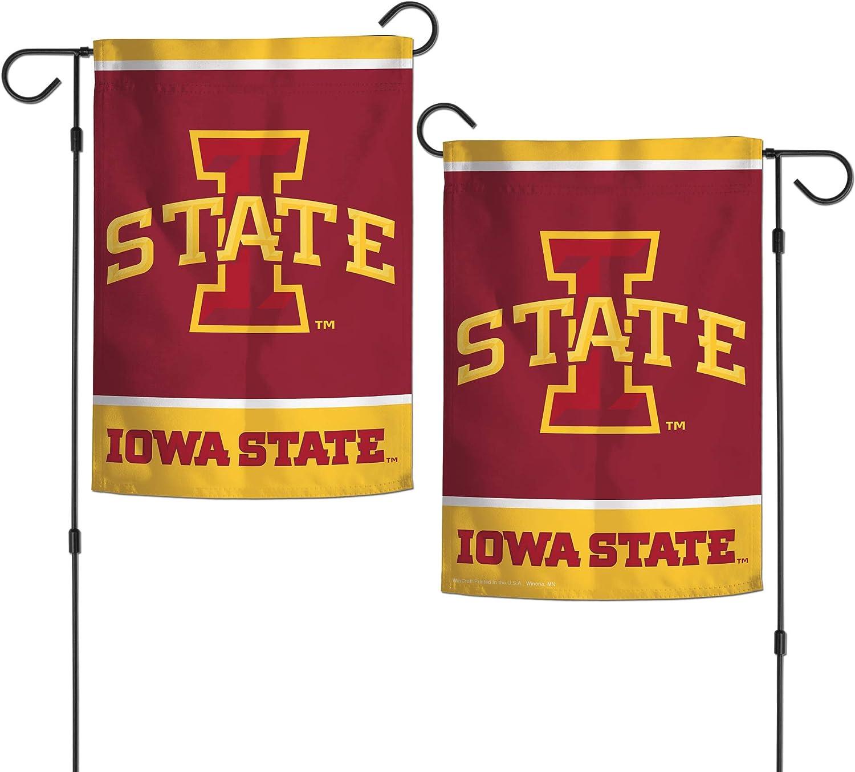 "WinCraft NCAA Iowa State Cyclones 12.5"" x 18"" Inch 2-Sided Garden Flag Logo"