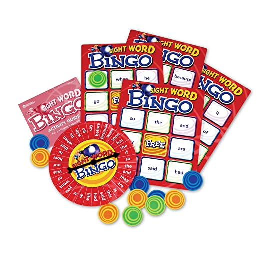 Amazon.com: Learning Resources Sight Word Bingo: Toys & Games