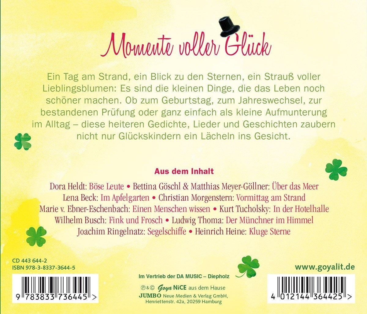 Viel Glck Und Alles Gute Gedichte Lieder Und Ge Amazon Com Music