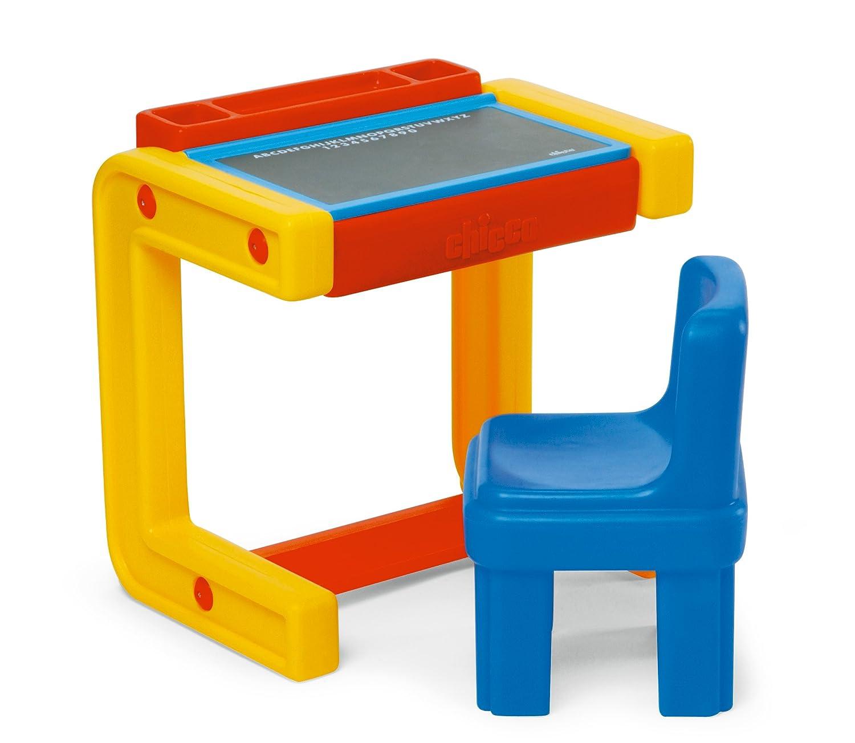 Chicco 30400 - Banco della scuola con lavagna e sedia: Amazon.it ...