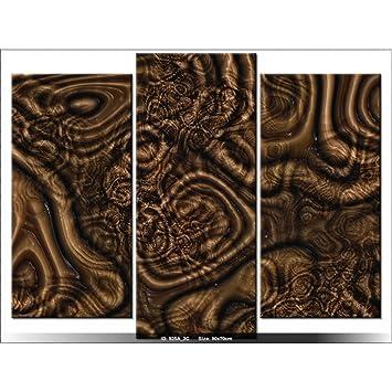 Art-Gallery XXL – 70 x 90 cm – Abstrakt – Wurzeln – Tabelle Multi ...