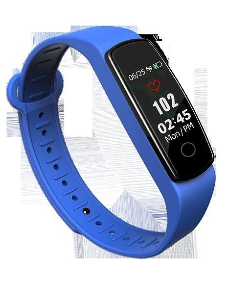 SLGJYY Inteligente Pulsera IP67 del Producto Pantalla imprägniern Frecuencia Cardíaca Tensiómetro de Dormir, el Deporte