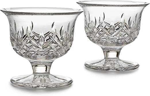 Waterford Crystal Lismore Crimson Footed Bowl