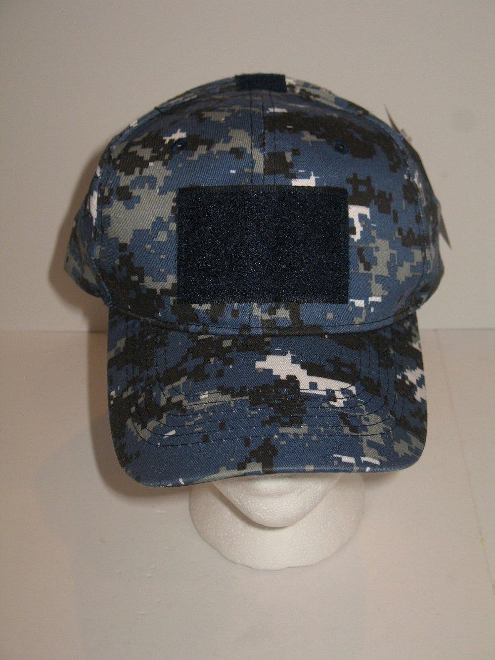 5d3d0b4732e ... buy amazon navy acu blue camo digital operator operators tactical cap  hat w velcro patch everything