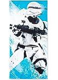Star Wars Blue Flame Storm Trooper Beach Towel - 28 x 58