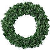 Kaemingk 680452 Imperial pine wreath, soft needles, PVC, diameter 50cm