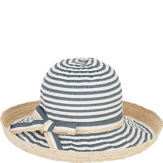 Sun  N  Sand Ribbons Hat (Cream) at Amazon Women s Clothing store  00f187ad180