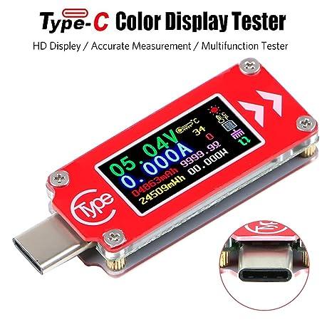 Digital BT Multimeter USB Voltmeter Messgerät Stromprüfer Tester