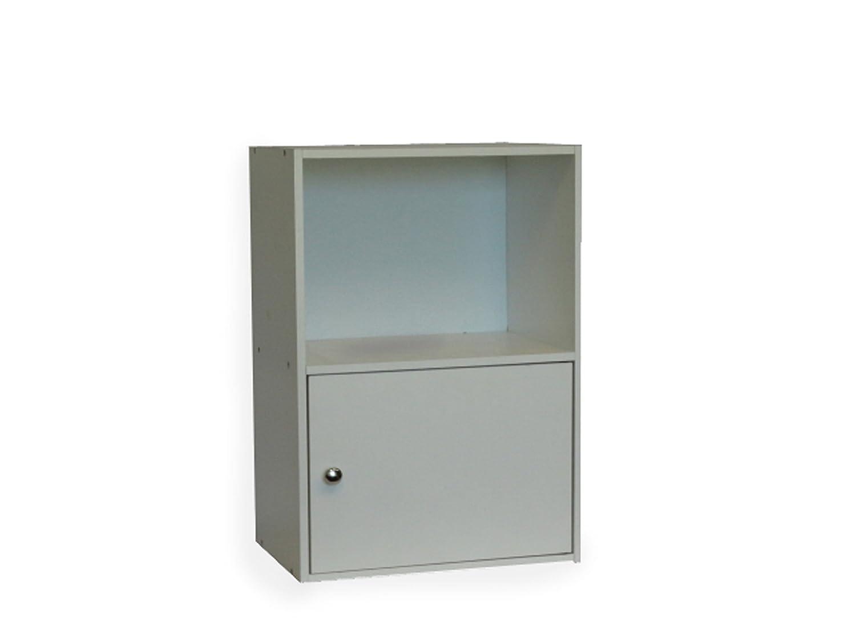 Convenience Concepts 151186 1-Door X-Tra Storage Cabinet, Black