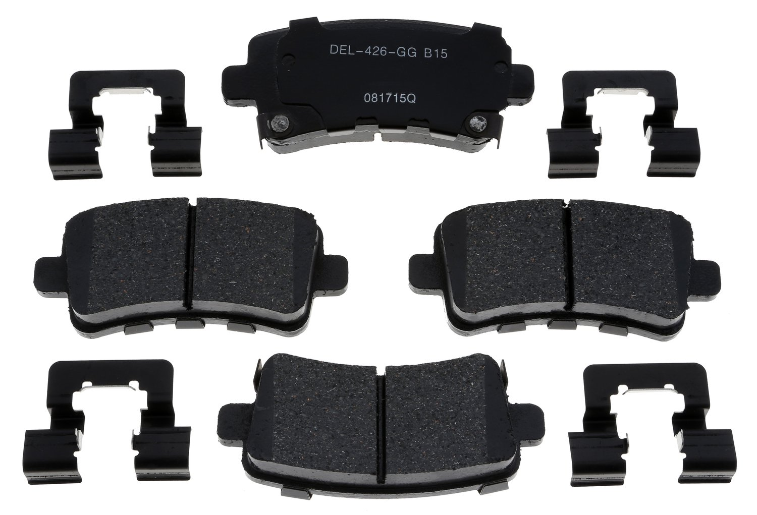ACDelco 17D1430ACH Professional Rear Disc Brake Pad Set