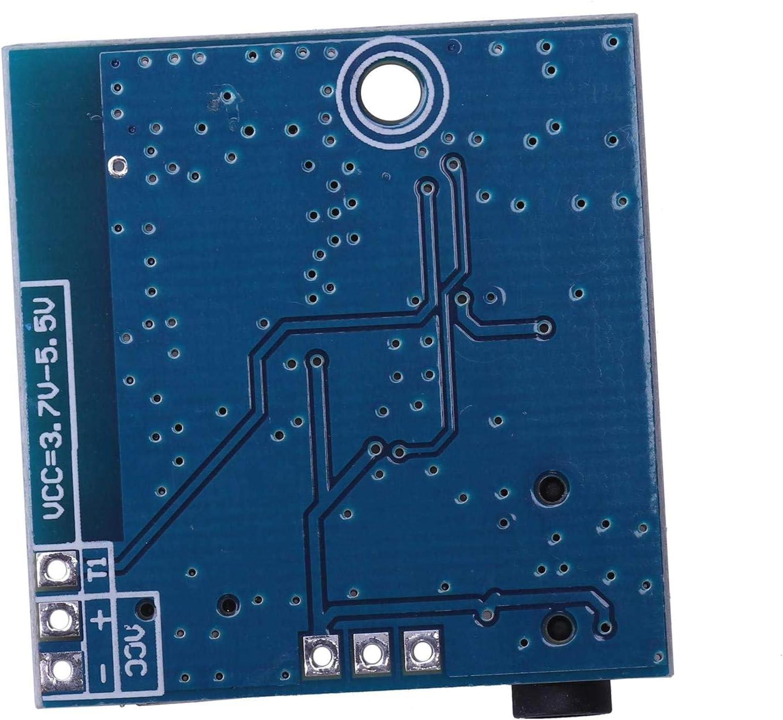 Sepikey 4.1 Modulo Scheda decodificatore Ble Mp3 Bluetooth Ricevitore Audio Fai-da-Te Amplificatore di Potenza Audio Senza Audio per Auto