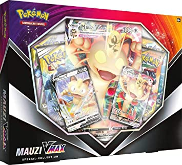 VERDES 10V60138311V10 Pokemon Company International Pokémon Mauzi VMAX Special Collection *German Version*: Amazon.es: Juguetes y juegos