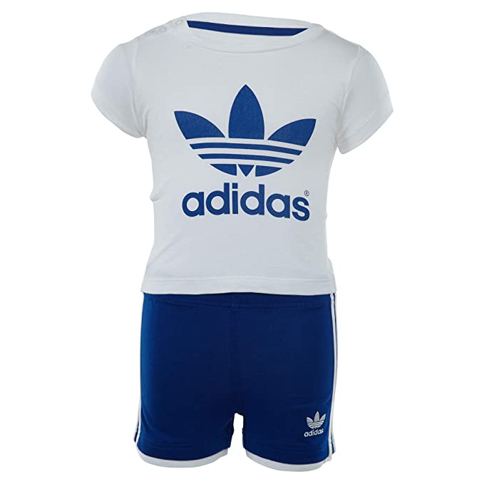 140d2fdb05e2 Adidas Originals Trefoil Tee and Shorts Set