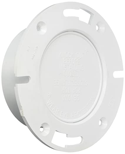 """Genova Products 75140 Closet Flange-Hub Pipe Fitting with P.T., 4"""""""