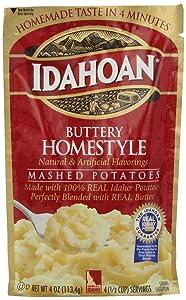 Idahoan Mashed Potatoes, Buttery Homestyle, 4 oz