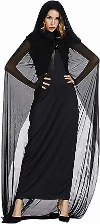 aizen Disfraz Bruja Mujer para eluxe Sombrero Mujer Bruja Bruja ...