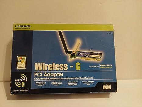 Cisco-Linksys WMP54G Wireless-G PCI Adapter