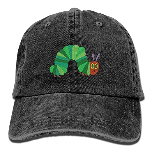 5936f72c9bf The Very Hungry Caterpillar Vintage Adjustable Jeans Caps Baseball Caps For  Man And Woman