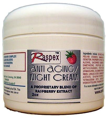 Raspex Anti Aging Night Cream, 2 Ounce Jar