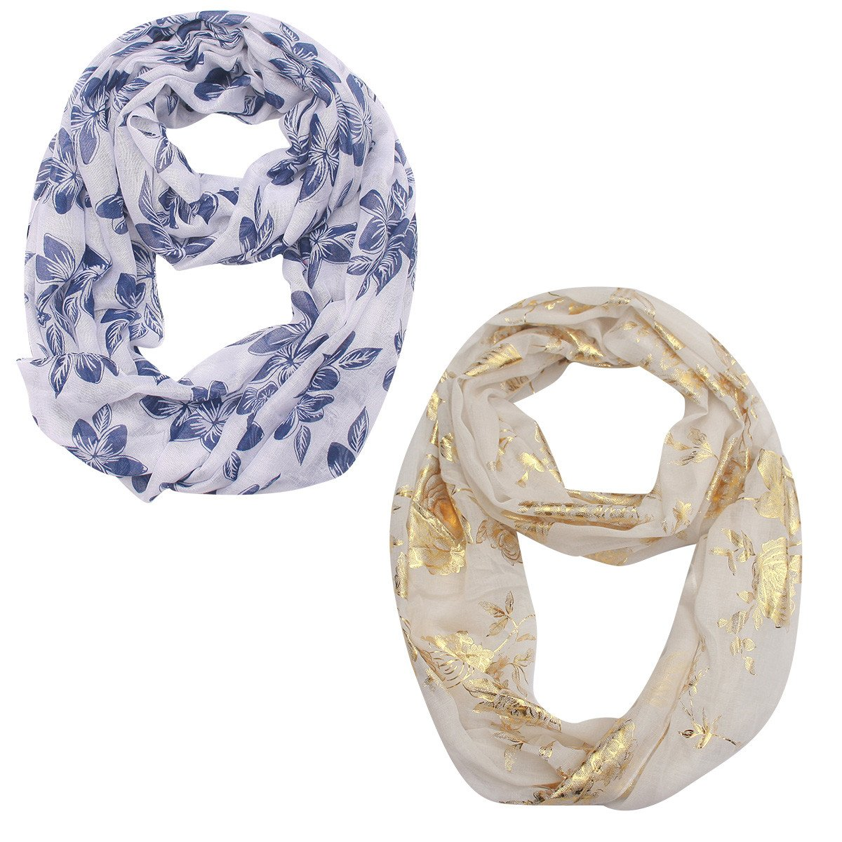 Women Lightweight Soft Printe Long Scarf 30-DAY MONEY REFUND GUARANTEED Reach CP65 Standard