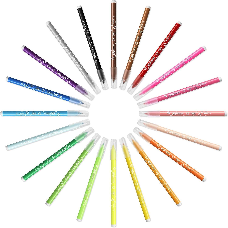 BIC KiDS Couleur Medium Felt Pens Pot x 36