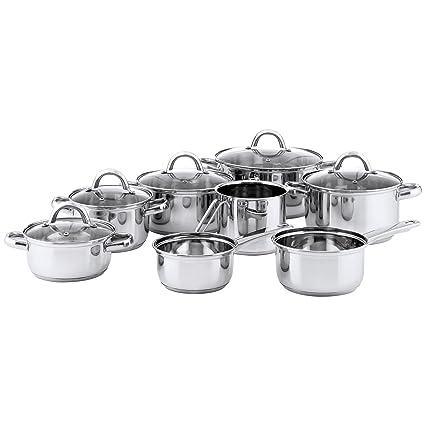 Amazon.com: Arcusine Ottawa - Batería de cocina (8 piezas ...