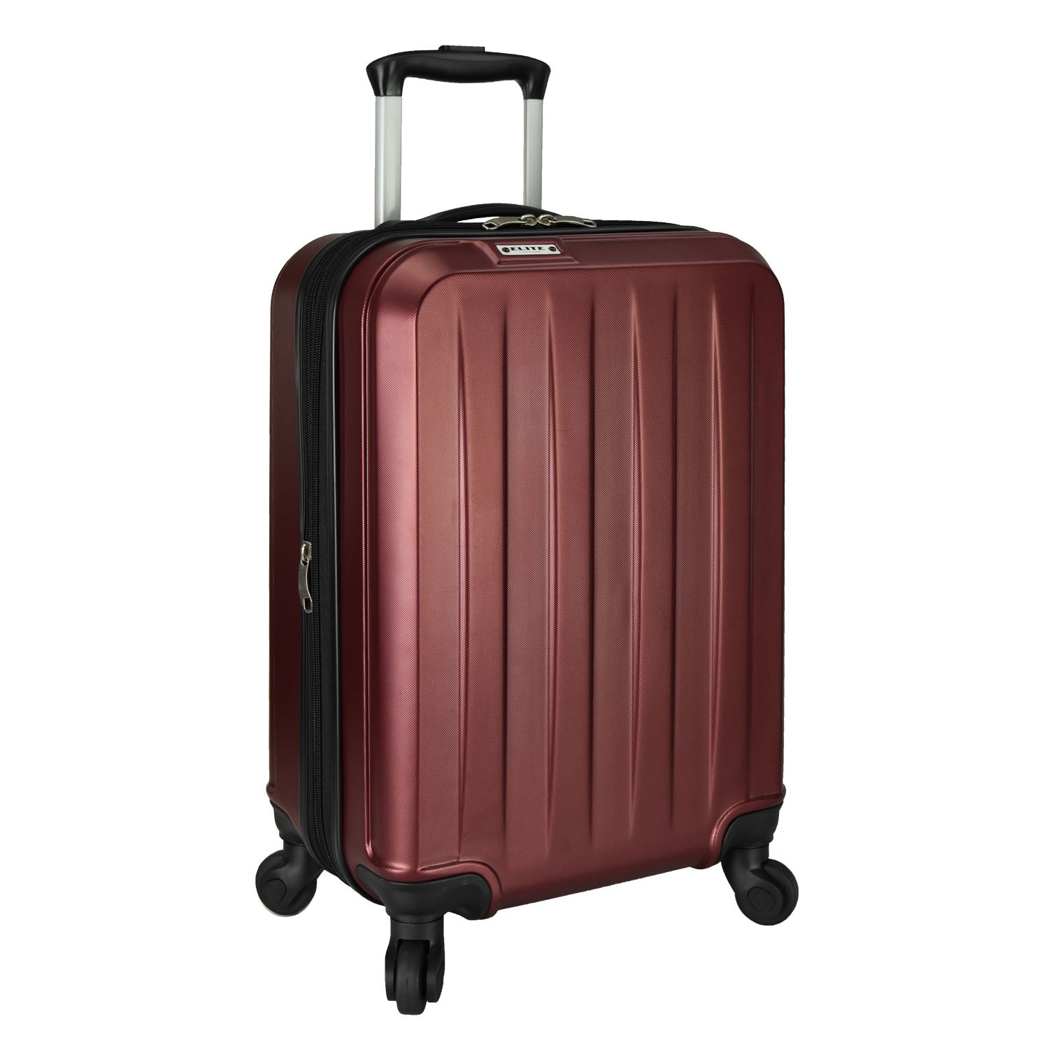 Elite Expandable Elite Expandable Carry-on Spinner, Bagage Cabine, Noir (Noir) -  EL06051K Noir (Noir) -  EL06051K Travelers Choice
