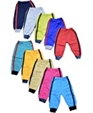 10 Colorful Warm Pipe-Design Pants Pajamas for Babies