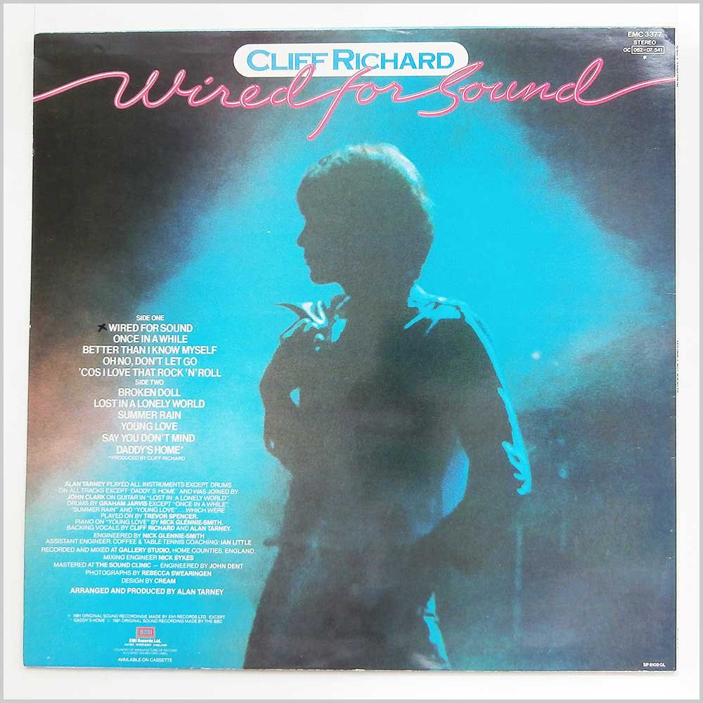 Wired For Sound - Cliff Richard LP: Amazon.co.uk: Music