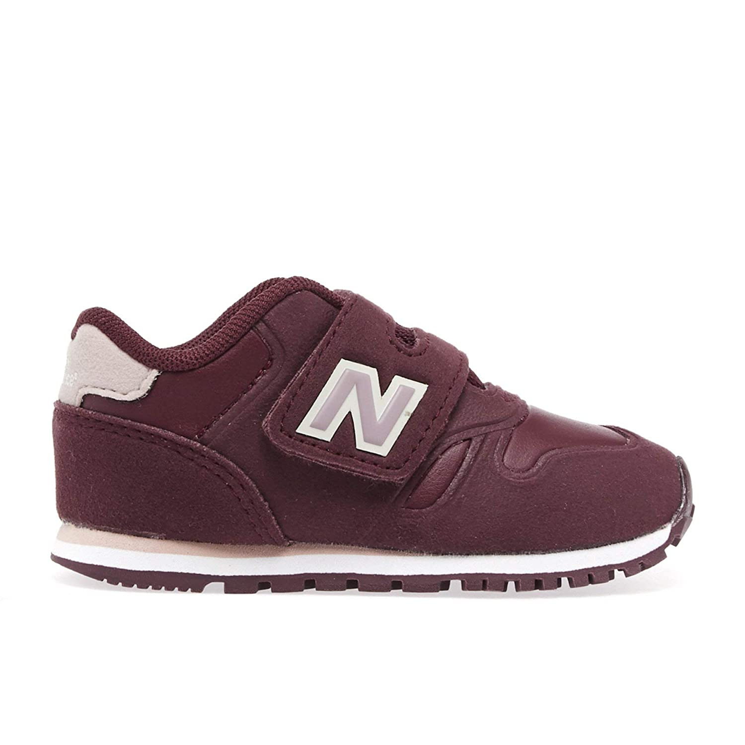 New Balance Infant 373 Velcro Kids Shoes 6.5 M US Toddler Burgundy