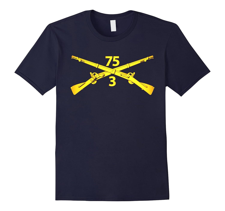3rd Bn - 75th Infantry Regiment Ranger Tshirt-Vaci