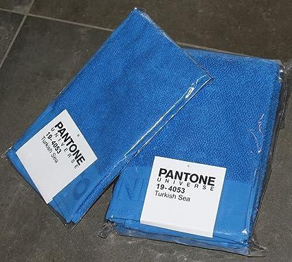 JUEGO DE ALTAVOCES 2 1 1 PARA INVITADOS 30 x 50 TOALLA 50 x 100 PANTONE