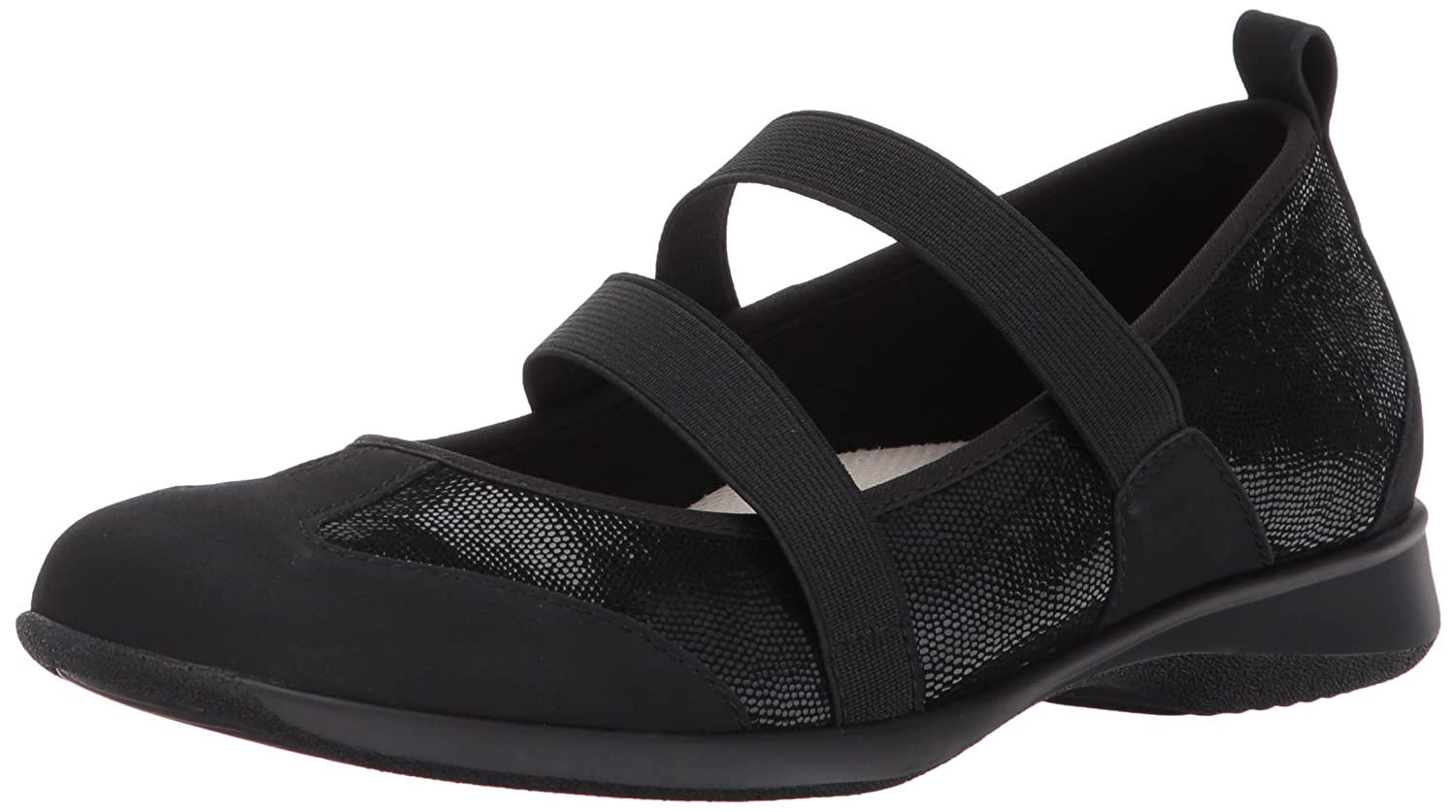 Trotters Women's Josie Mary Jane Flat B01NBNBIL1 10.5 B(M) US|Black
