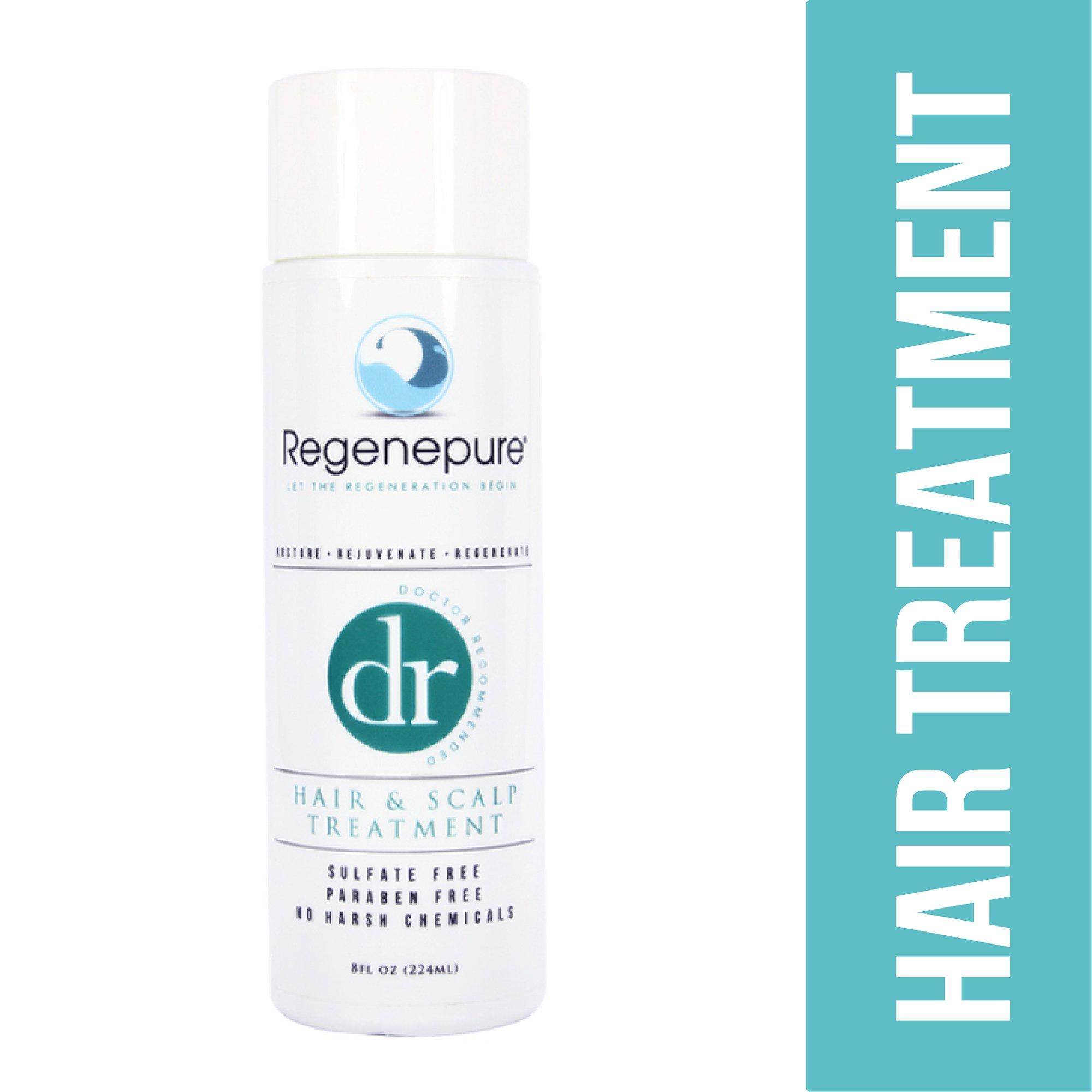 Regenepure - DR Shampoo, Hair and Scalp Treatment, Supports Hair Growth, 8 ounces