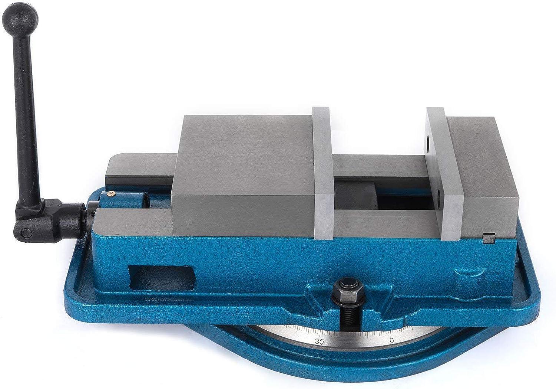 "5/"" Milling Machine Lockdown Vise-Swiveling Base 0-360° Swiveling Base Industrial"