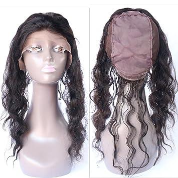 Amazon.com: WOB Nueva de pelo Cabello humano producto 360 ...