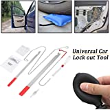 DEDC Universal Car Door Key Lost Lock Out Emergency Open Unlock Key Tool Kit Auto Repair Tools for Vehicle