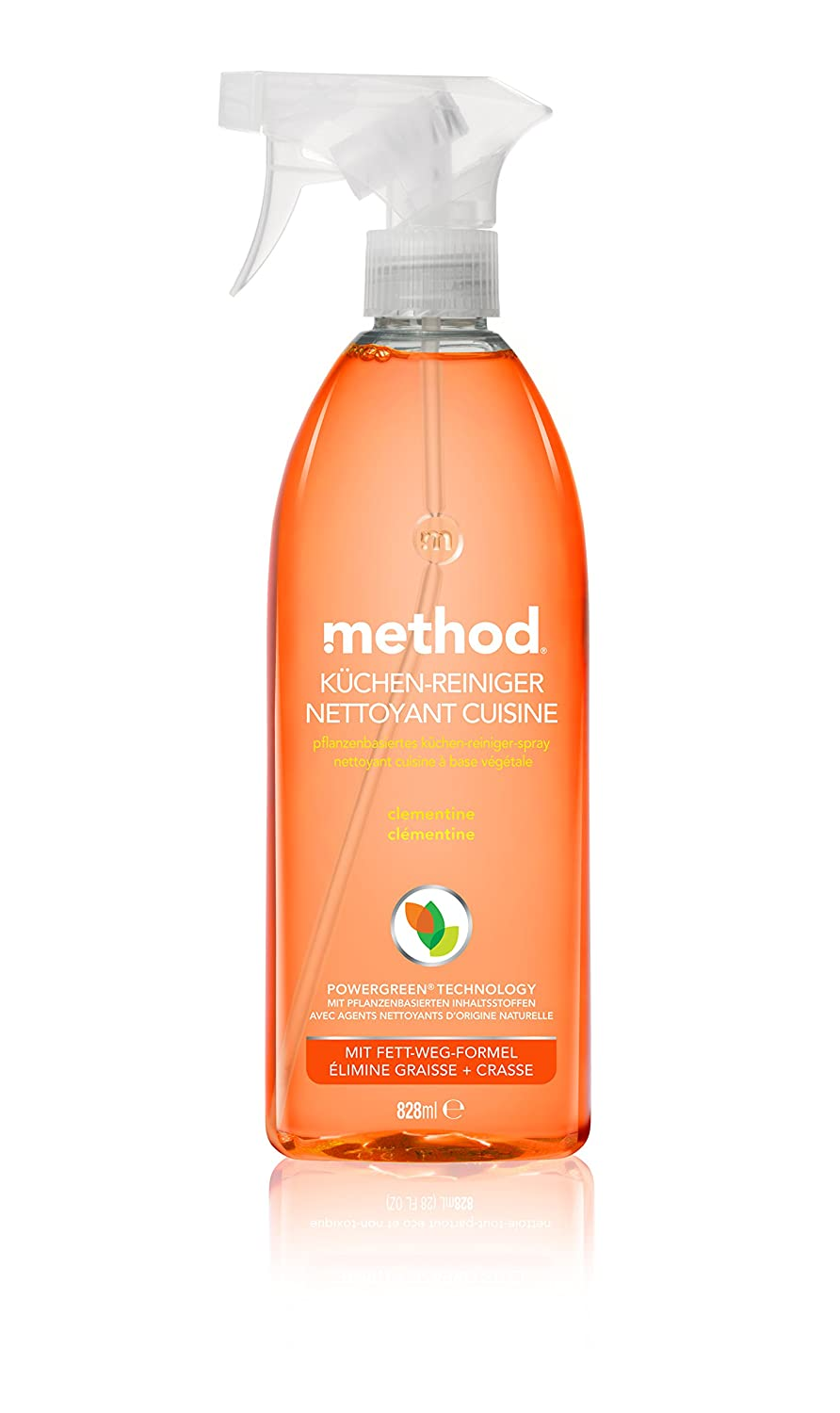method Küchen-Reiniger Clementine, 4er Pack (4 x 828 ml): Amazon.de ...