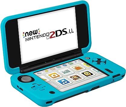 Funda para Nintendo New 2DS XL (Azul) – Keten Funda de Silicona ...