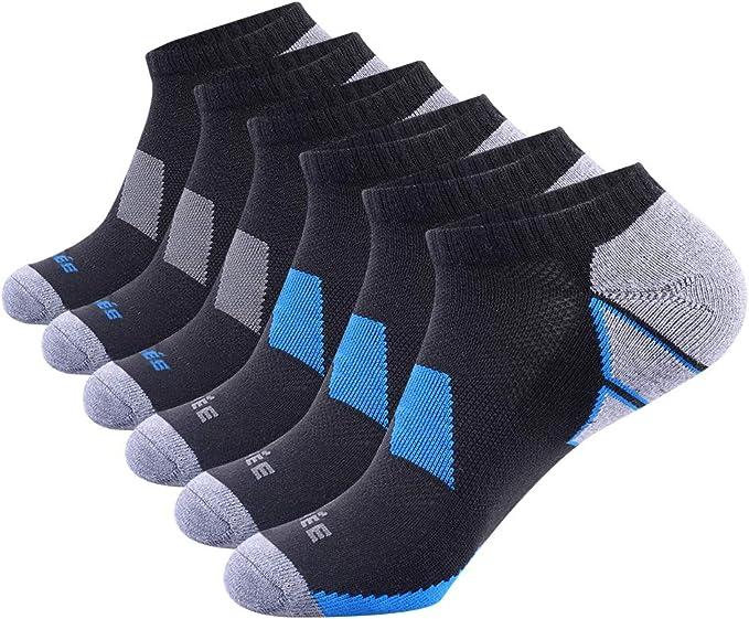 Champion Men/'s Training No Show Socks With Ventilation NEW 3+1 4 Pair  SZ 6-12