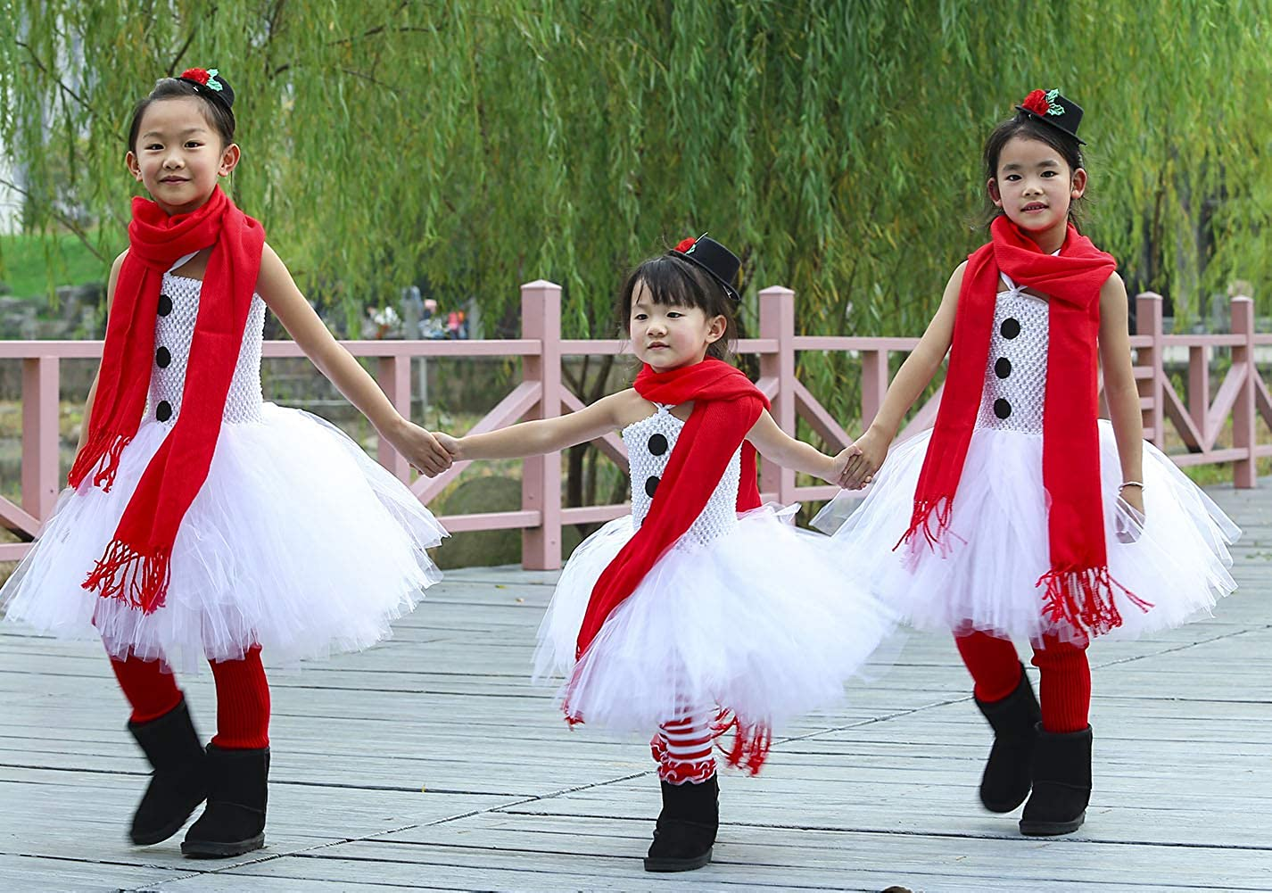 Winter Party Snowman Outfit Winter Birthday Winter Wonderland Cute Snowman Double Ribbon Trim Tutu Outfit