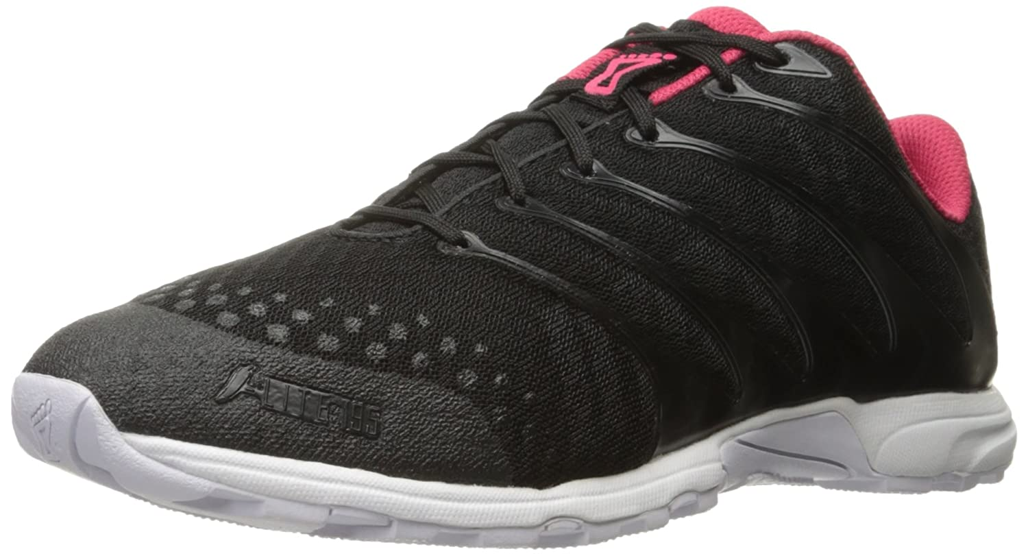 Black Pink White Inov-8 Women's F-lite 195 Cross-Trainer shoes