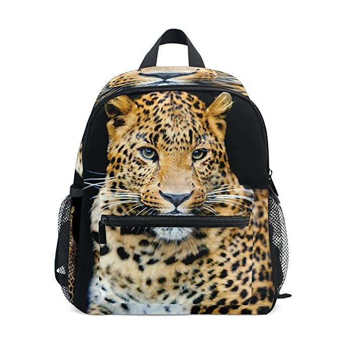Image Unavailable. Image not available for. Color  LORVIES Leopard Mini  Kids Backpack Pre-School Kindergarten Toddler Bag 5b2bd8bea7df8