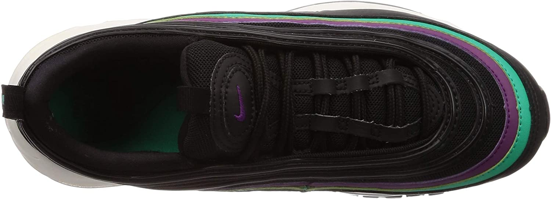 Nike W Air Max 97, Chaussures de Running Compétition Femme Multicolore Black Bright Grape Clear Emerald Black 008