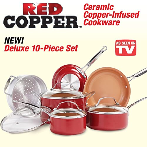 Red Copper Pan Reviews Are Red Copper Pans Safe