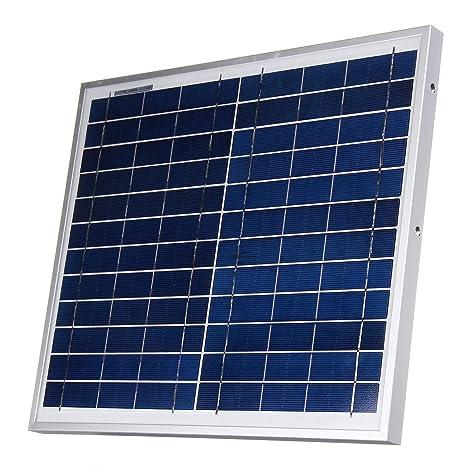 DyNamic 12V 12W polisilicio panel solar cargador de batería ...