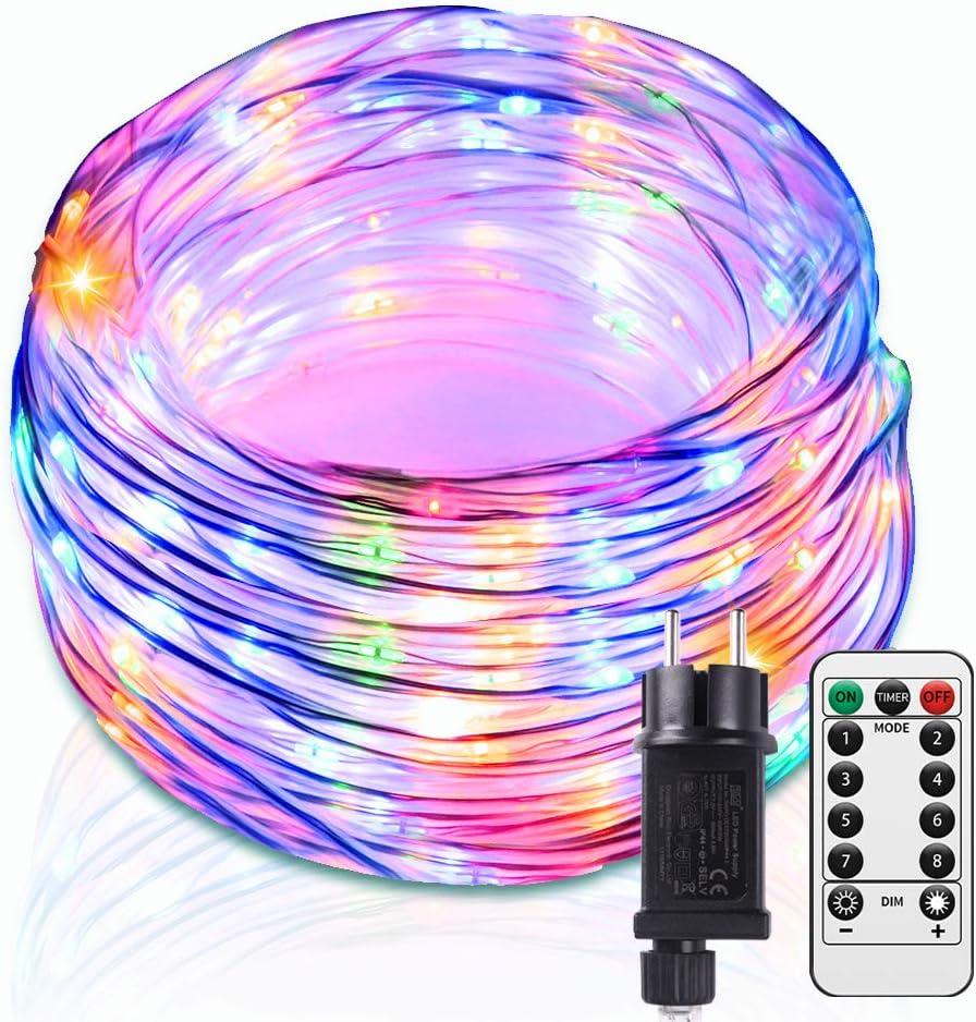 Guirlande Lumières Chaîne 50 m avec 50 ES détenteurs commercial Heavy Duty PVC Câble