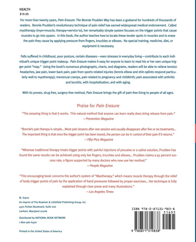 Pain Erasure: Bonnie Prudden: 9780871319838: Amazon.com: Books
